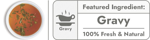 gravy-featured ingredients