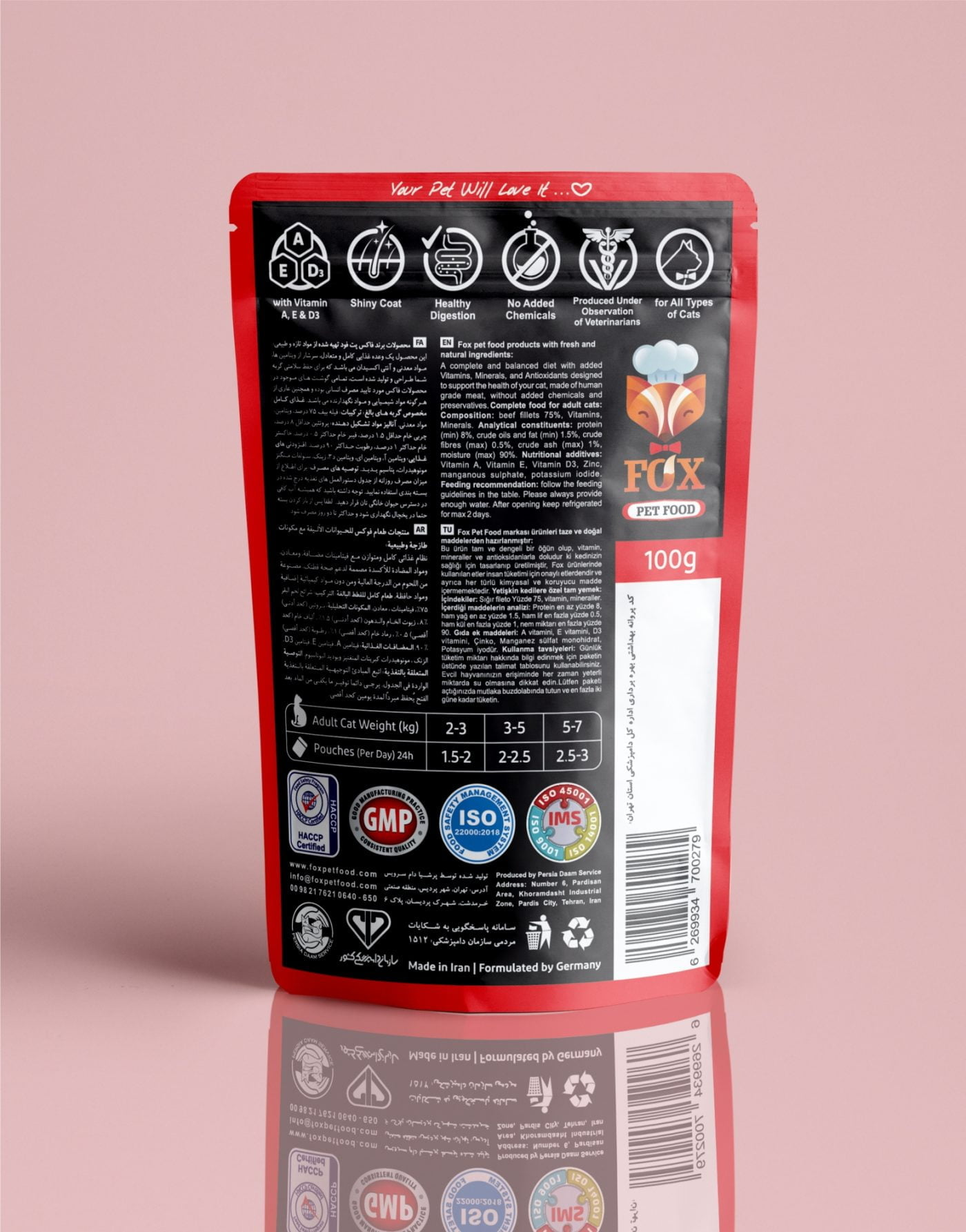 beef fillets pouch-back