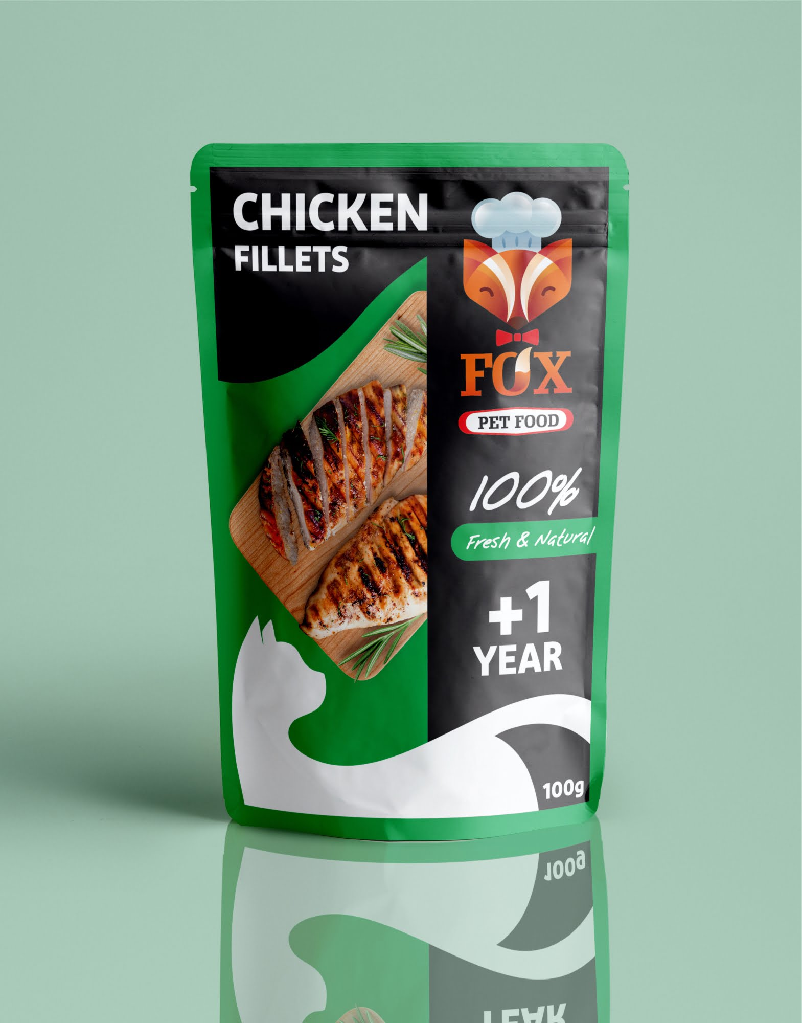 chicken fillets pouch-front