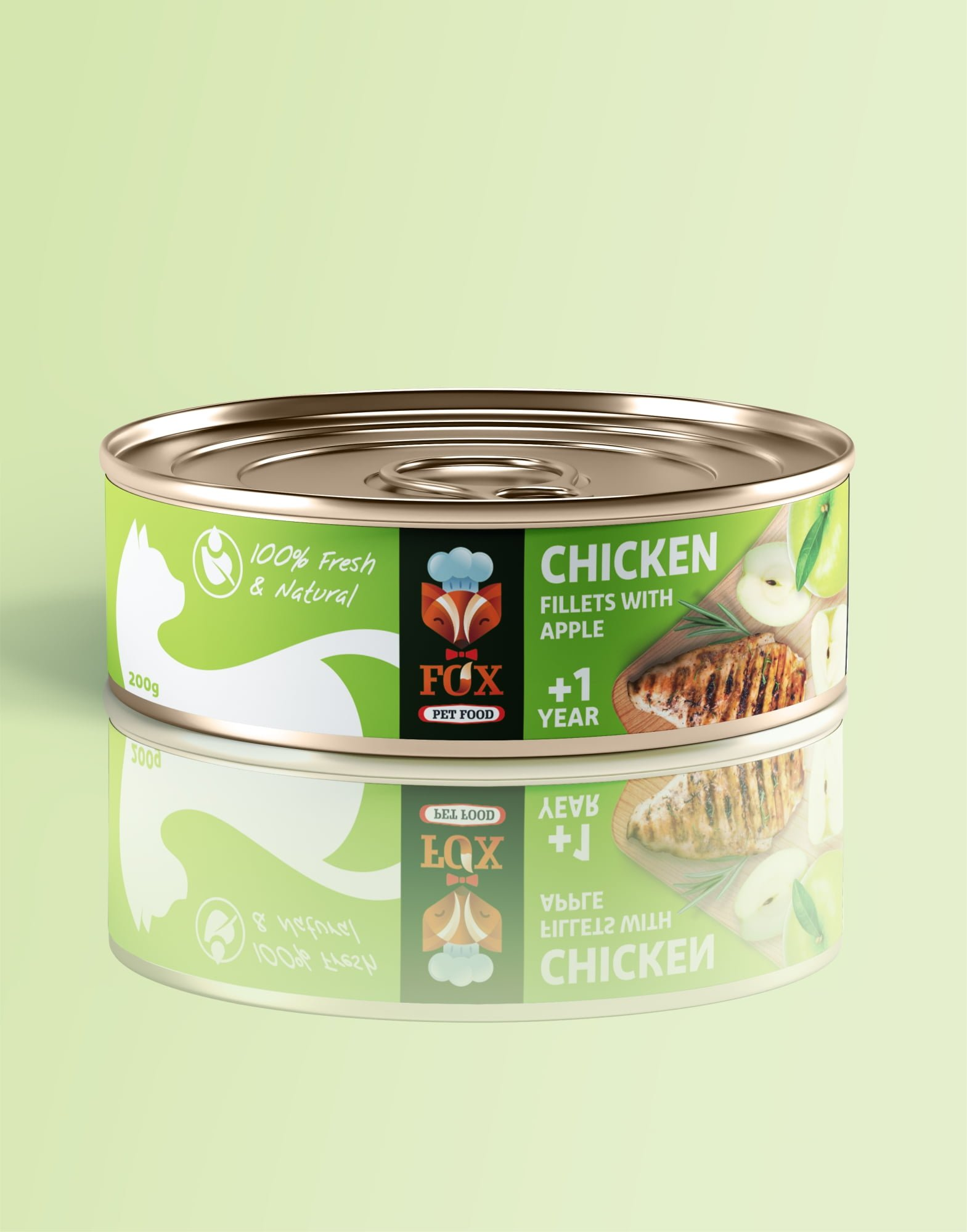 chicken fillets with apple-tin-200g-front