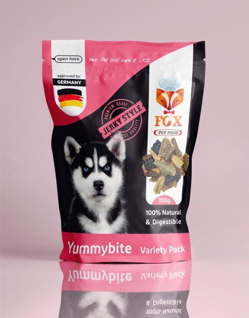 yummybite-variety pack-100g-front