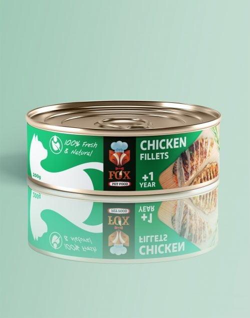 chicken fillets-tin-200g-front