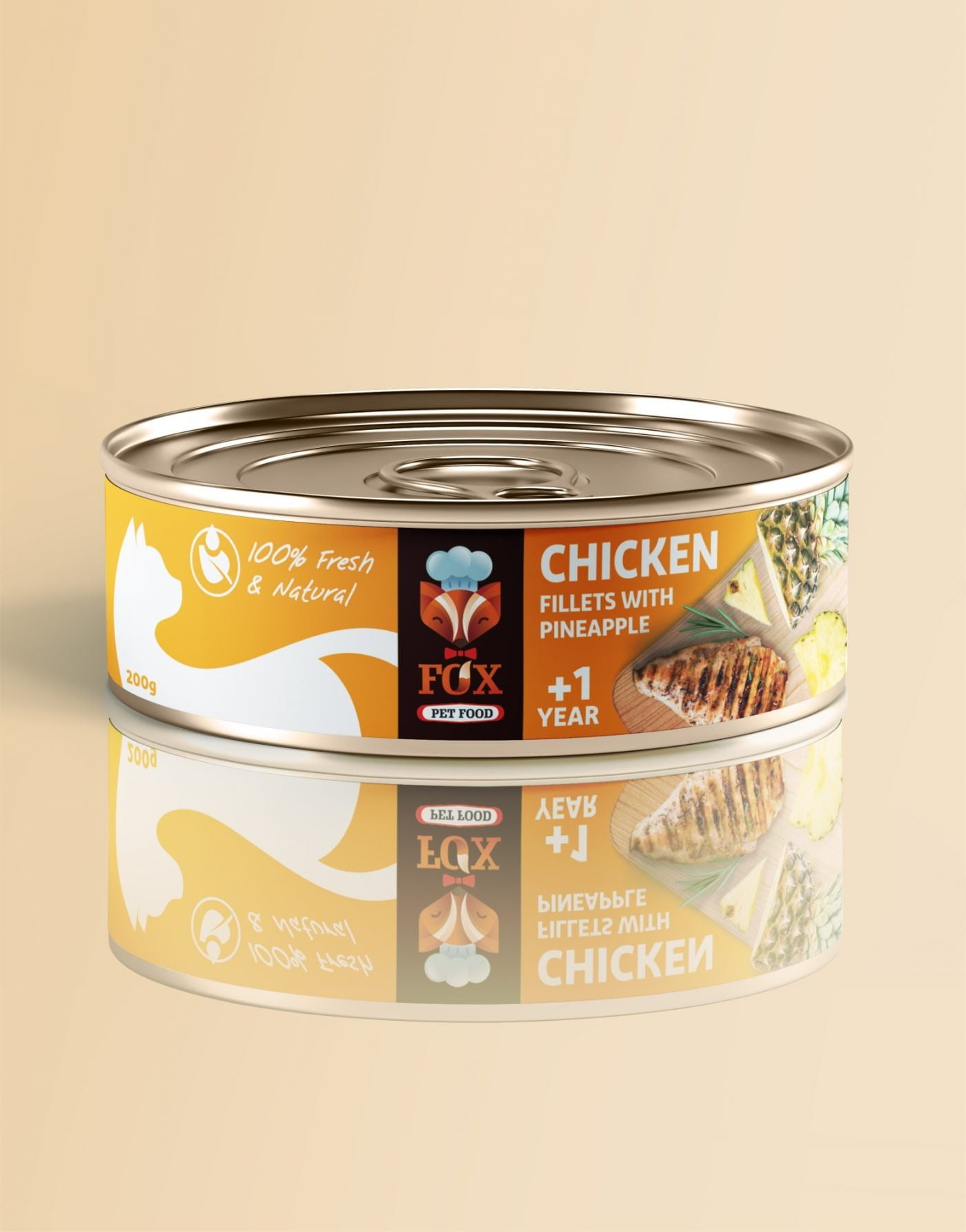chicken fillets with pineapple-tin-200g-front