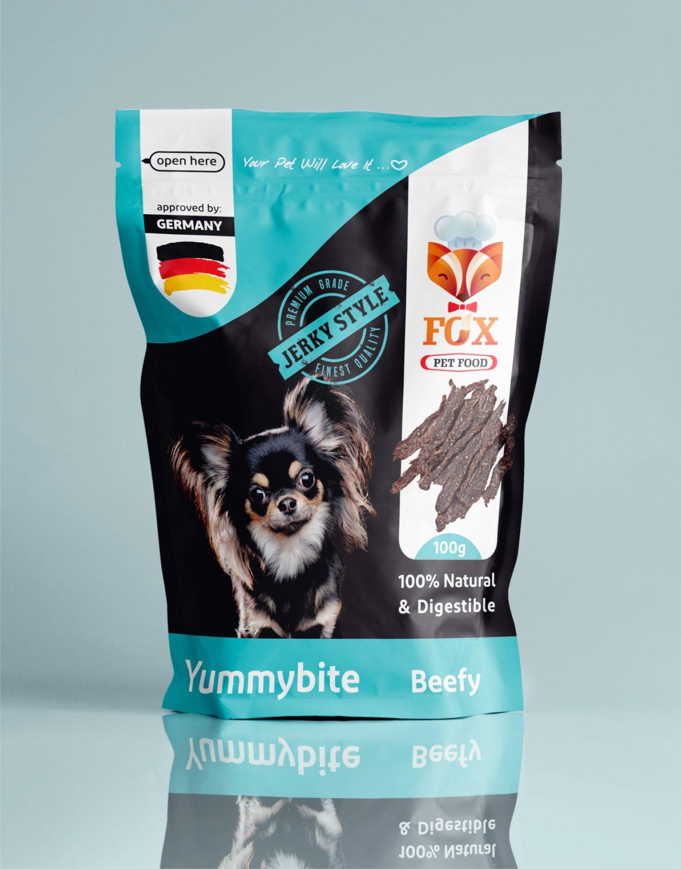 yummybite-beefy-100g-front